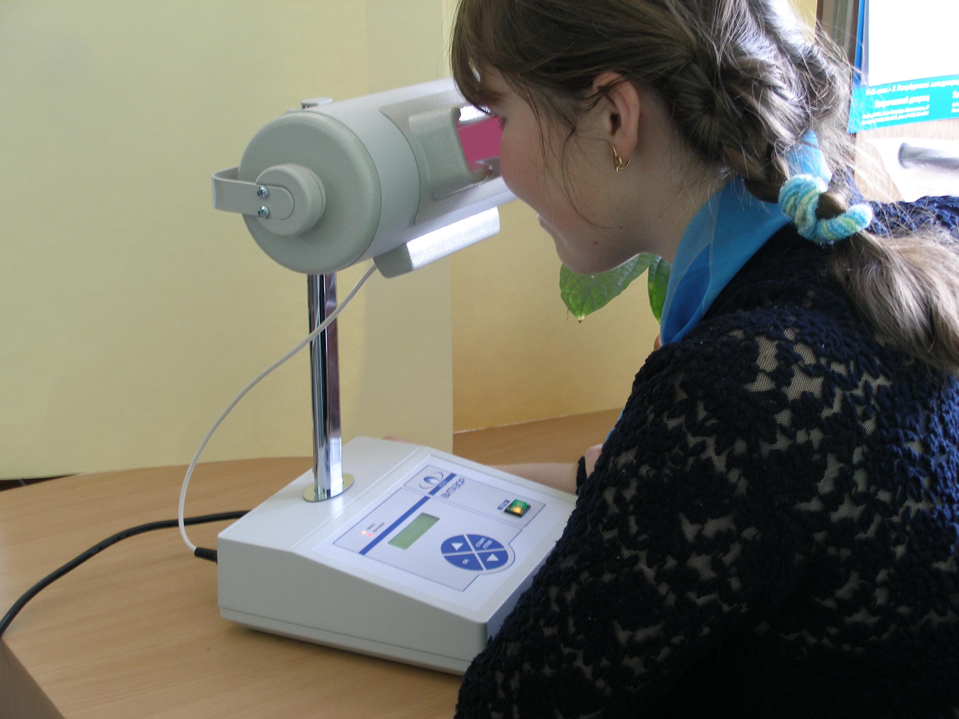 Тренажёр для глаз при близорукости